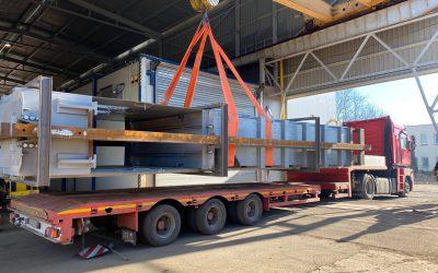 SKIP-y produkcji KGHM ZANAM dotarły do kopalni węgla kamiennego