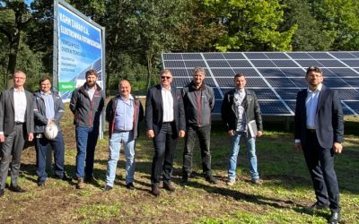 We begin the construction of a solar farm – #GoGreen