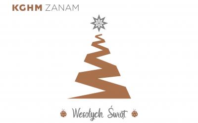 Życzenia Świąteczne od Zarządu KGHM ZANAM